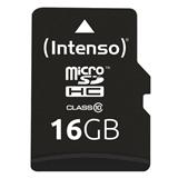 Intenso 16GB MicroSDHC memoria flash Classe 10