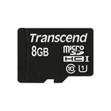Transcend 8GB microSDHC Class 10 UHS I memoria flash Classe 10