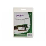 Patriot Memory 4GB DDR3 1600 memoria 1 x 4 GB 1600 MHz