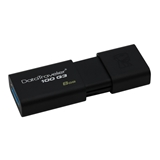 Kingston Technology DataTraveler 100 Generation 3 8GB 8GB USB 3.0 (3.1 Gen 1) Tipo-A Nero unità flash USB