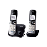 PANASONIC CORDLESS KX-TG6812JTB DUO BLACK