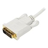 StarTech.com Cavo convertitore adattatore Mini DisplayPort a DVI da 91 cm – Mini DP a DVI 1920x1200 - Bianco