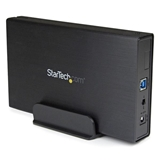StarTech.com Box esterno per disco rigido SATA III da 3,5 USB 3.0 nero con UASP per SATA 6 Gbps HDD ester