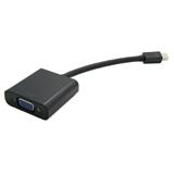 Value 12.99.3125 cavo di interfaccia e adattatore Mini DisplayPort VGA Nero