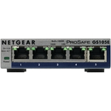 Netgear GS105E 200PES switch di rete Gestito L2/L3 Gigabit Ethernet (10/100/1000) Grigio