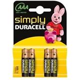 Duracell 002432 batteria per uso domestico Batteria monouso Mini Stilo AAA Alcalino