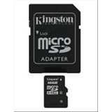 Kingston Technology SDC4/16GB memoria flash MicroSDHC Classe 4