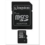 KINGSTON 16GB MICROSDHC CLASS 4 FLASH CARD