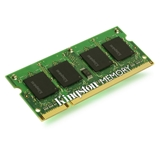 Kingston Technology ValueRAM 2GB DDR3 1600 memoria 1600 MHz