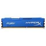 HyperX FURY Blue 4GB 1600MHz DDR3 memoria
