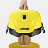 Kärcher WD 3 1000 W Aspiratore a cilindro Secco e bagnato Sacchetto per la polvere 17 L