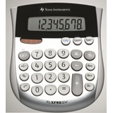 Texas Instruments TI-1795 SV calcolatrice Scrivania Calcolatrice di base Nero, Argento, Bianco