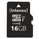 Intenso 16GB microSDHC memoria flash Classe 10 UHS I