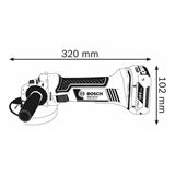 Bosch 0 601 93A 308 smerigliatrice angolare 12,5 cm 10000 Giri/min 2,3 kg