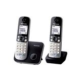 PANASONIC KX-TG6812PDB Panasonic Dect KX-TG6812PDB Black