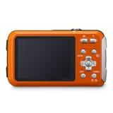 Panasonic Lumix DMC FT30 Fotocamera compatta 16,1 MP CCD 4608 x 3456 Pixel 1/2.33 Arancione
