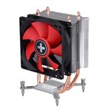 Xilence I402 Processore Refrigeratore 9,2 cm Nero, Rosso, Argento