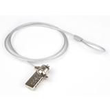 Hamlet Notebook Lock cavo di sicurezza per pc e notebook con lucchetto e combinazione di 180m in acciaio