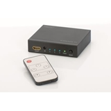 DIGITUS 4K HDMI switch 3xin 1xout 4096x2160p standard Audio DSD Audio HD Audio black incl. remote control