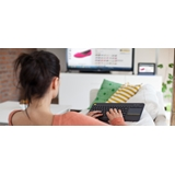 Logitech K400 Plus tastiera RF Wireless QWERTY Inglese UK Nero