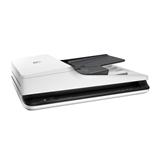 HP Scanjet Pro 2500 f1 1200 x 1200 DPI Scanner piano e ADF Nero, Bianco A4