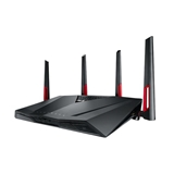 ASUS RT AC88U router wireless Dual band (2.4 GHz/5 GHz) Gigabit Ethernet Nero