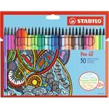 STABILO Pen 68 Cardboard Wallet marcatore Medio Multicolore 30 pezzo(i)