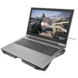 Trust GXT 278 base di raffreddamento per notebook 43,9 cm (17.3) Nero