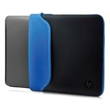 HP V5C31AA borsa per notebook 39,6 cm (15.6) Custodia a tasca Nero, Blu