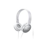 Panasonic RP HF300ME W cuffia e auricolare Padiglione auricolare Grigio, Bianco