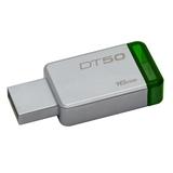Kingston Technology DataTraveler 50 16GB unità flash USB USB tipo A 3.0 (3.1 Gen 1) Verde, Argento