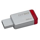 Kingston Technology DataTraveler 50 32GB unità flash USB USB tipo A 3.0 (3.1 Gen 1) Rosso, Argento