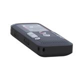 Philips DVT2710 dittafono Memoria interna e scheda di memoria Antracite, Cromo