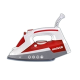 Hoover IRONJET TIM 2500 Ferro da stiro a secco e a vapore Ceramica Grigio, Rosso, Bianco 2500 W