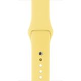 Apple Cinturino Sport giallo limone (42 mm)