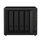 Synology DiskStation DS418 server NAS e di archiviazione RTD1296 Collegamento ethernet LAN Mini Tower Ner