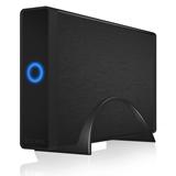 ICY BOX IB 377U3 3.5 Enclosure HDD Nero