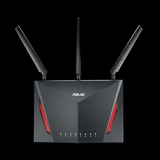 ASUS RT AC86U router wireless Dual band (2.4 GHz/5 GHz) Gigabit Ethernet Nero