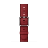Apple MR3A2ZM/A accessorio per smartwatch Band Rosso Pelle