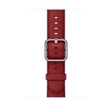 Apple MR3A2ZM/A accessorio per smartwatch Band Rosso Pelle