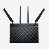 ASUS 4G AC68U router wireless Dual band (2.4 GHz/5 GHz) Gigabit Ethernet 3G Nero