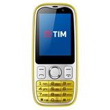 """TIM Easy 4G 6,1 cm (2.4"""") 0,5 GB 2 GB SIM singola Micro-USB Argento, Giallo Android 4.4.4 1550 mAh"""