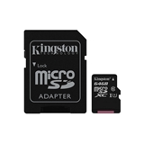 KINGSTON 64GB MICROSDXC CANVAS