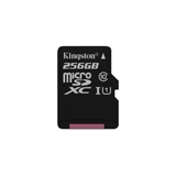 Kingston Technology Canvas Select memoria flash 256 GB MicroSDXC Classe 10 UHS I