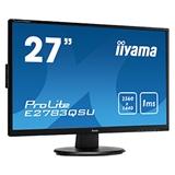 iiyama ProLite E2783QSU B1 monitor piatto per PC 68,6 cm (27) 2560 x 1440 Pixel Wide Quad HD LED Nero