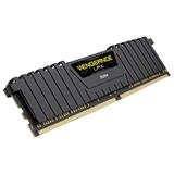 CORSAIR 16GB RAMKit 2x8GB DDR4 3000MHz 2x288DIMM Unbuffered 16-20-20-38 Vengeance LPX Black Heat Spreader 1.35V XMP2.0