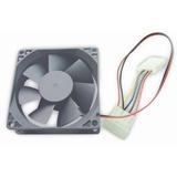 Gembird FANCASE 4 ventola per PC Computer case Ventilatore 8 cm Grigio