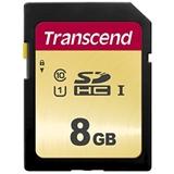 Transcend 8GB, UHS I, SD memoria flash Classe 10