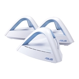 ASUS Lyra Trio router wireless Dual band (2.4 GHz/5 GHz) Gigabit Ethernet Blu, Bianco