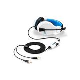 Sharkoon RUSH ER3 Stereofonico Padiglione auricolare Nero, Blu, Bianco